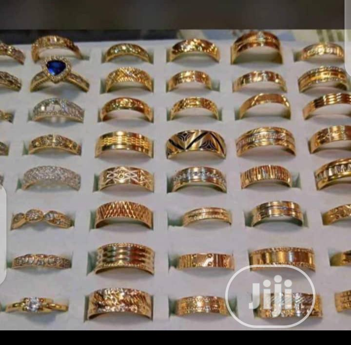 Pure Real Gold 750 Italy 18karat Wedding Rings   Wedding Wear & Accessories for sale in Yaba, Lagos State, Nigeria