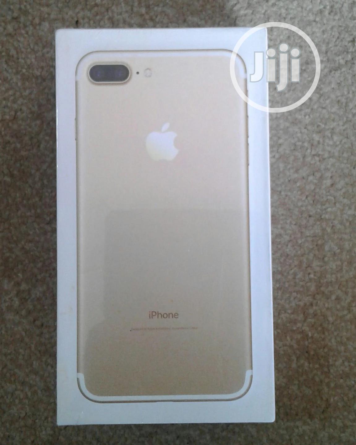 New Apple iPhone 7 Plus 128 GB Gold