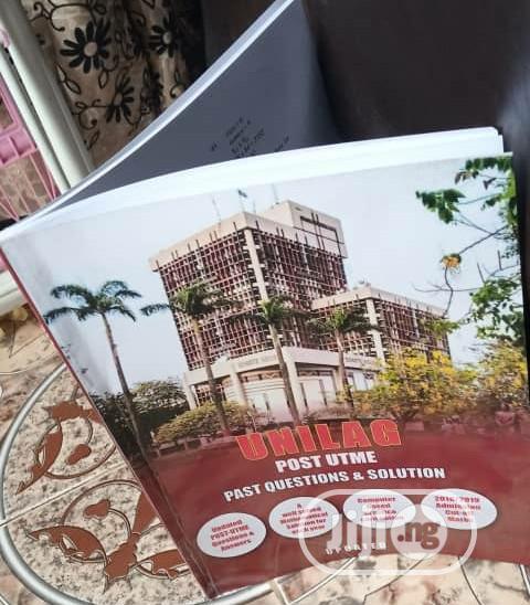 Unilag Post Utme Pastquestion   Books & Games for sale in Ikorodu, Lagos State, Nigeria