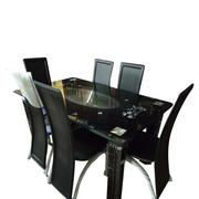 Dinning Glass by 6chairs | Furniture for sale in Lagos State, Ojo