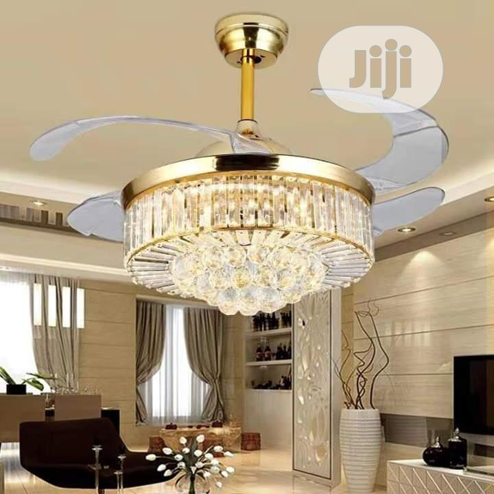 Ceiling Fan Chandelier