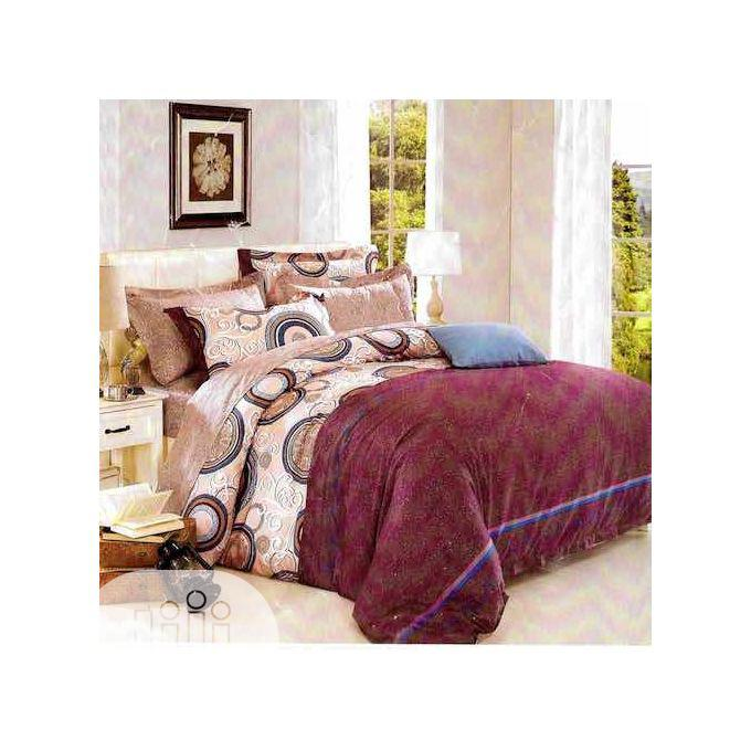 Quality 6x6 Duvet,Bedsheet With 4pillow Cases