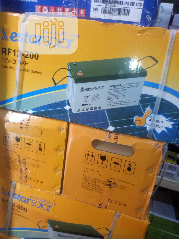 200amps Restar Solar Battery