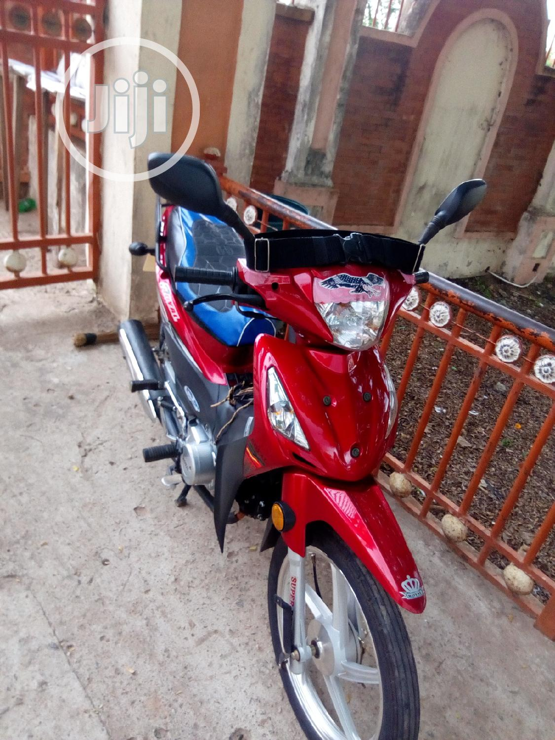 Custom Built Motorcycles Chopper 2020 Red | Motorcycles & Scooters for sale in Akure, Ondo State, Nigeria