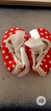 Lovely Eed Oolka Dot Baby Crib Shoe | Children's Shoes for sale in Abuja (FCT) State, Wuse 2