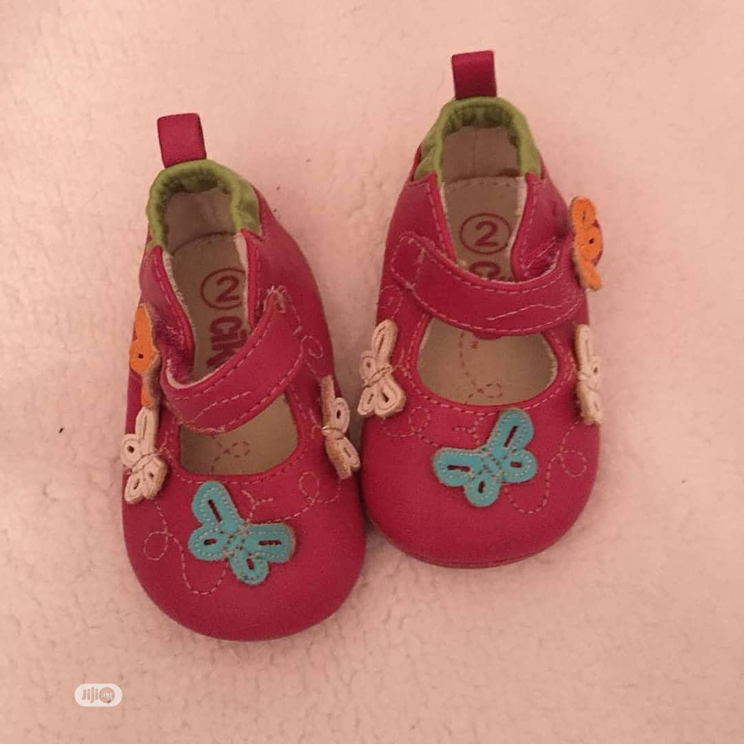 Archive: Sweet Pink Baby Shoe