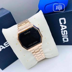 Casio Digital Rose Gold Chain Watch | Watches for sale in Lagos State, Lagos Island (Eko)