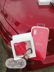 iPhone X Silicone Case With Airpod Case - Red | Accessories & Supplies for Electronics for sale in Lagos State, Ikeja