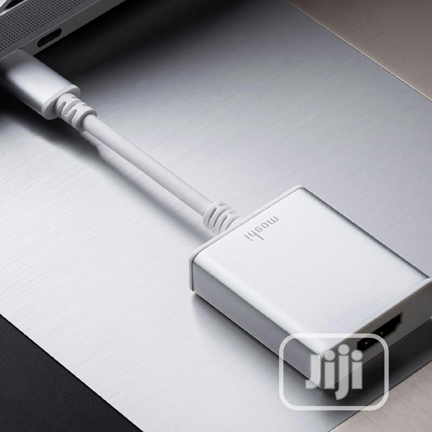Moshi USB-C To HDMI Adapter Silver | Accessories & Supplies for Electronics for sale in Isolo, Lagos State, Nigeria