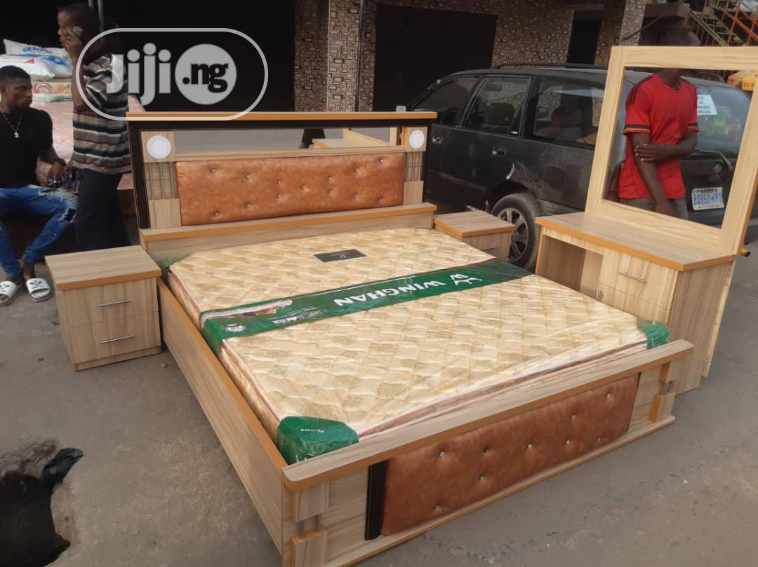 Full Set of Bedroom Bed. Affordable | Furniture for sale in Ibeju, Lagos State, Nigeria