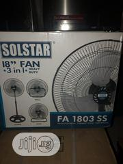 Sol Star 18inchs Standing Fan (3 In 1) With Good Quality Products | Home Appliances for sale in Lagos State, Ikeja