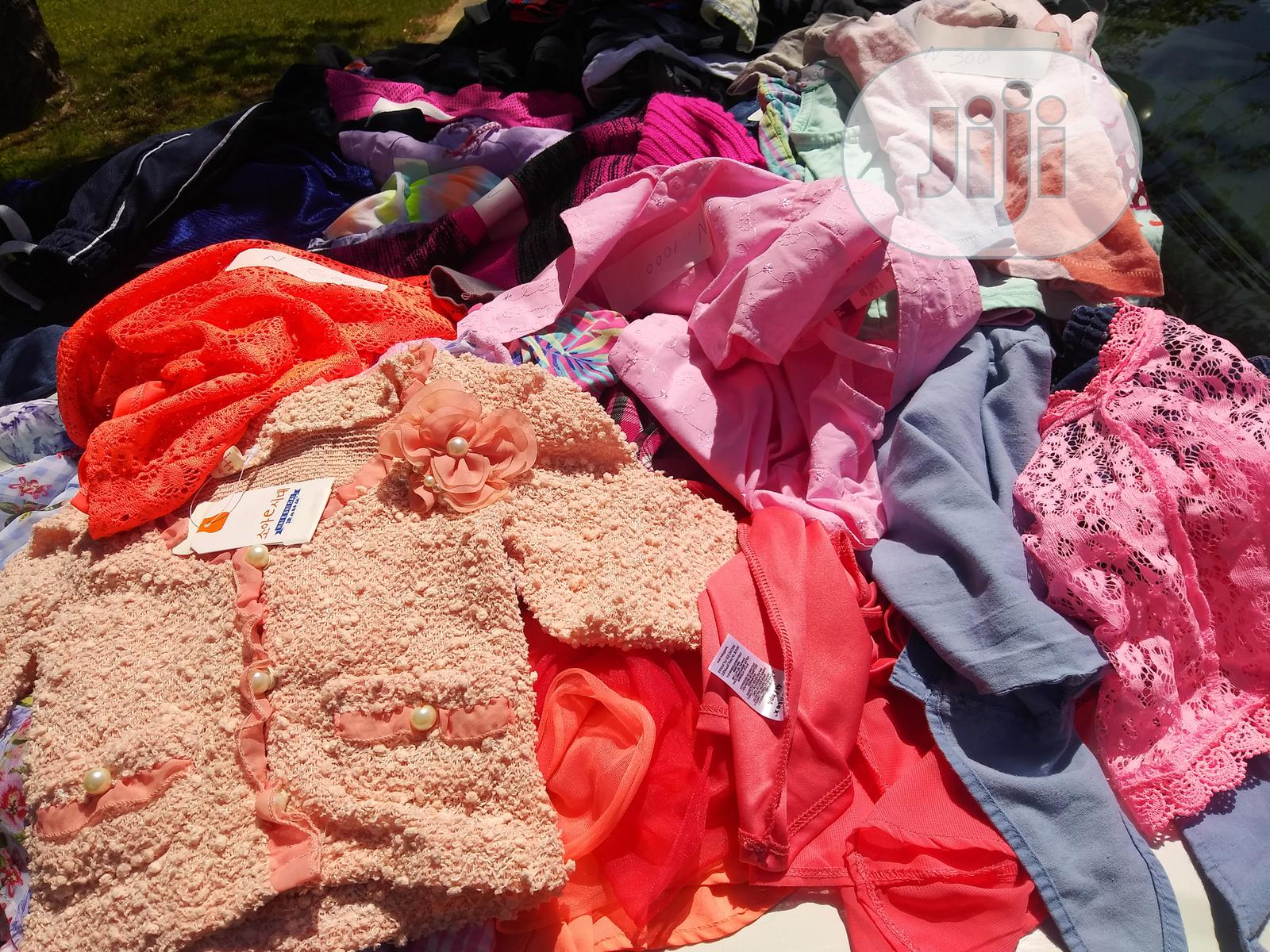 Archive: Mixed Lot Of New And Fairly Used Clothings Women, Men, Children