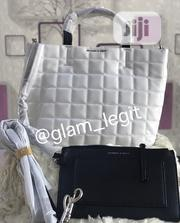 White and Black (Double Color)Charles Keith Bag | Bags for sale in Enugu State, Enugu