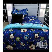 6X7 Mickey Mouse Duvet,Bedsheet With 4 Pillow Cases | Home Accessories for sale in Lagos State, Ikeja