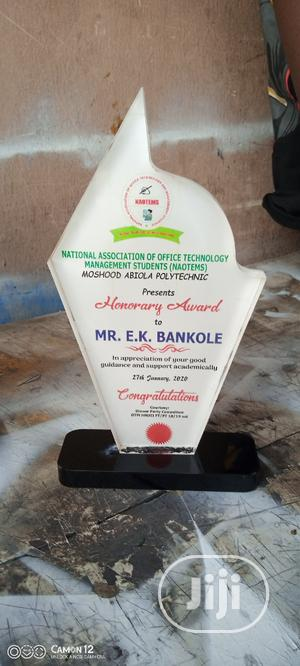 Acrylic Award | Arts & Crafts for sale in Lagos State, Mushin