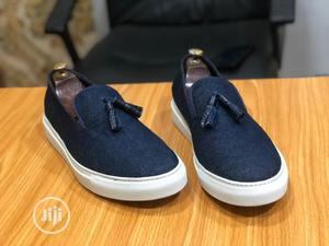 Deniem Sneakers With Blue Tassel | Shoes for sale in Lagos State, Mushin