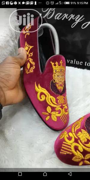 Royal Velvet Monogram Loafers   Shoes for sale in Lagos State, Mushin