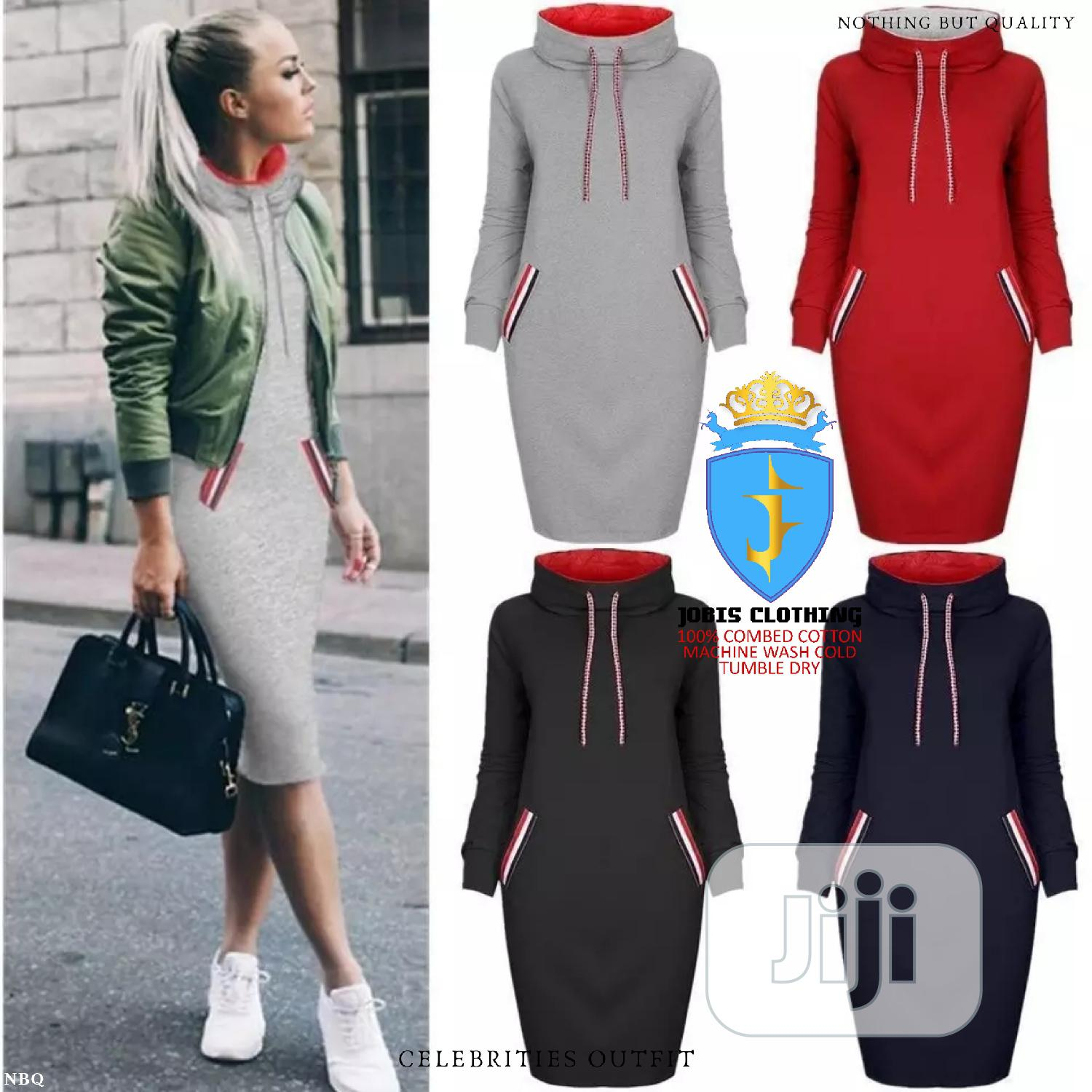 Female Mini Gown Hoodie | Clothing for sale in Lagos Island, Lagos State, Nigeria