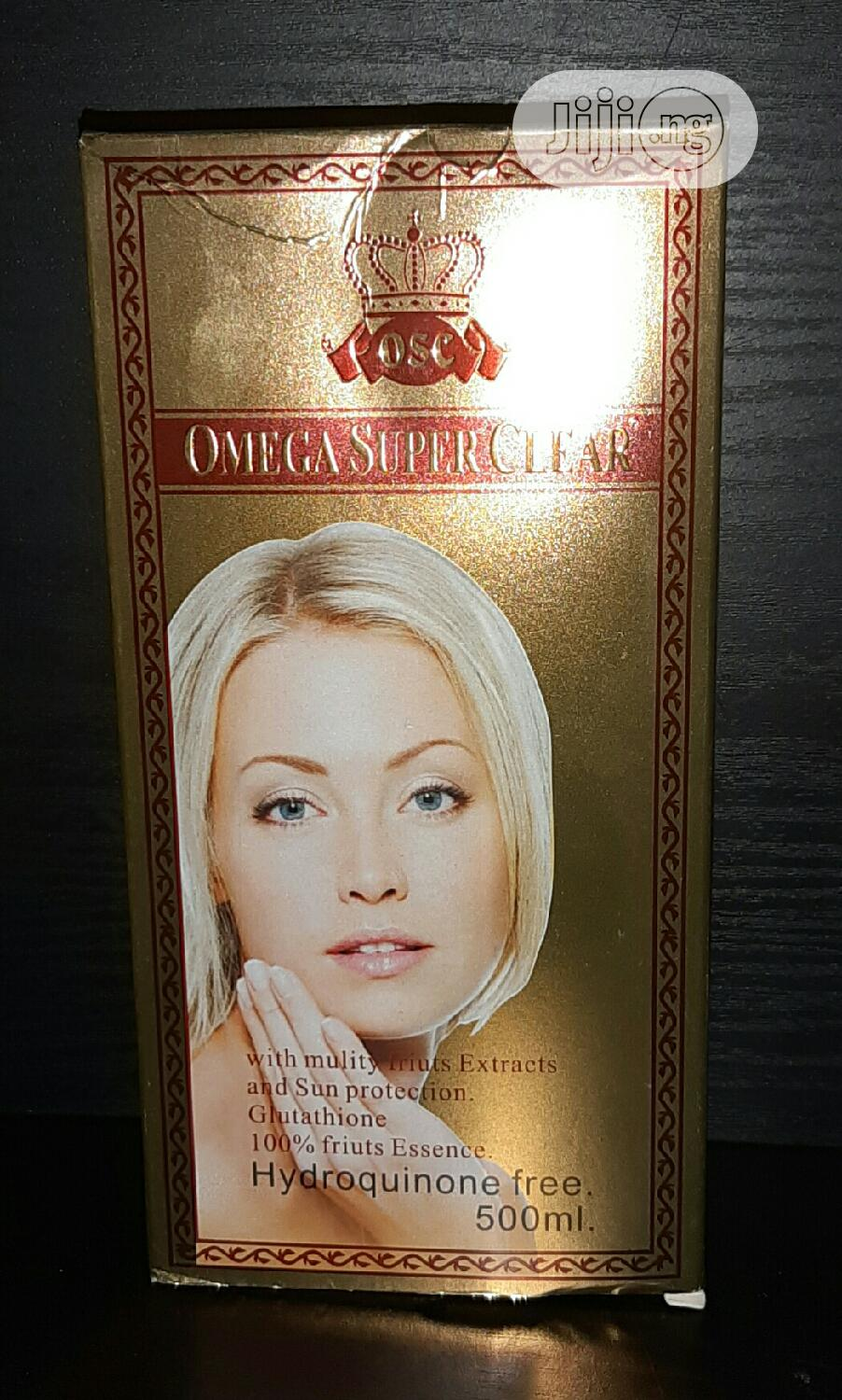 Omega Super Clear Lotion