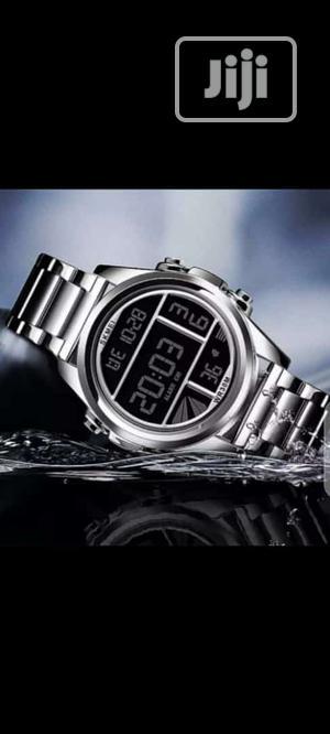 Skmei Digital Silver Chain Watch | Watches for sale in Lagos State, Lagos Island (Eko)