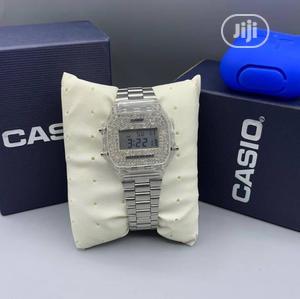 Casio Digital Silver Chain Watch | Watches for sale in Lagos State, Lagos Island (Eko)