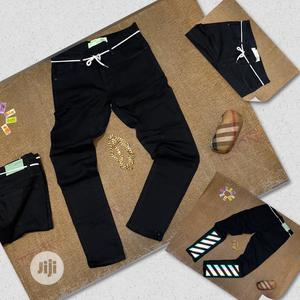 Exclusive Off White Jeans Now Available In Store   Clothing for sale in Lagos State, Lagos Island (Eko)