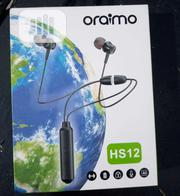 Original Oraimo Hs12 Bluetooth Headset | Headphones for sale in Lagos State, Ifako-Ijaiye