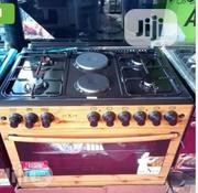 New Nexus Standing Gas Cooker 6burners 4+2 Automatic Oven And Grill | Kitchen Appliances for sale in Lagos State, Ojo