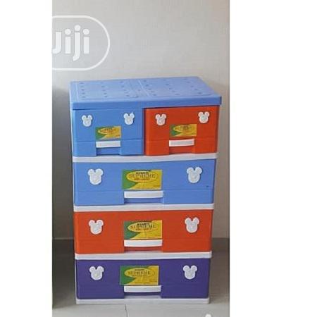 Supreme Mixed Colour Detachable Plastic Storage Cabinet