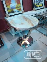 Side Stool Marbke Top | Furniture for sale in Lagos State, Ojo