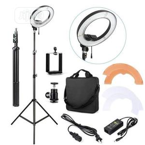 Ring Light 48cm LED 18 Inches Universal Dimmable Ring Light | Accessories & Supplies for Electronics for sale in Lagos State, Alimosho