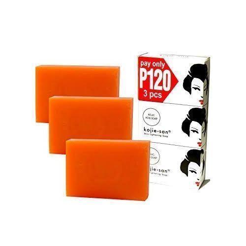 Kojic Acid Soap Kojie San 3in1 Bars Skin Lightening Soap
