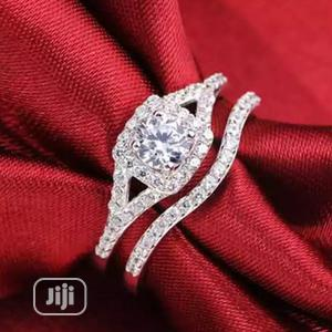 Lupic Silver Plated Bridal Ring Set.   Wedding Wear & Accessories for sale in Delta State, Warri