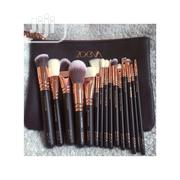 Zoeva Zoeva Rose Gold15-piece Brush Set + Clutch Purse | Bags for sale in Lagos State, Alimosho