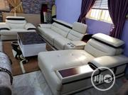 L-Shape Leather Sofa. | Furniture for sale in Lagos State, Ajah