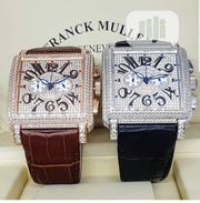 Franck Muller Ice Box Chronograph Leather Wristwatch | Watches for sale in Lagos State, Lagos Island