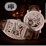 Frank Muller Ice Box Skeletal Dial Wristwatch | Watches for sale in Lagos State, Lagos Island