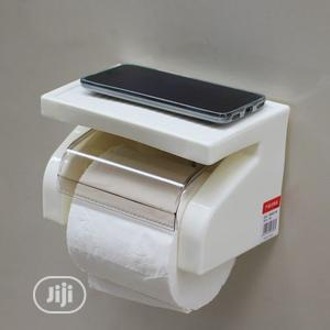 Toilet Roll Tissue Paper Toilet Paper Holder - White | Home Accessories for sale in Lagos State, Agege