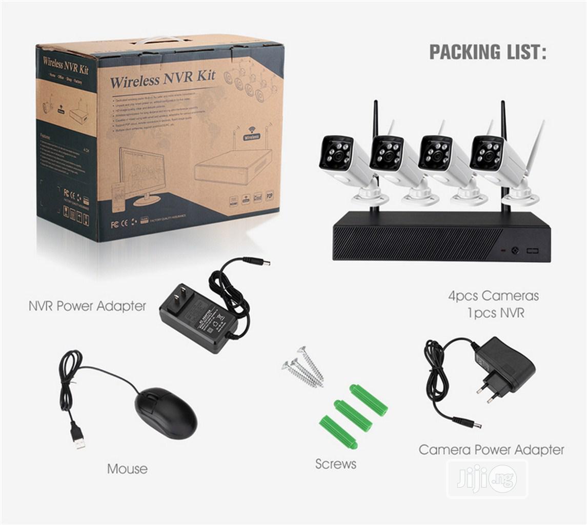 Wireless NVR CCTV Camera Kit