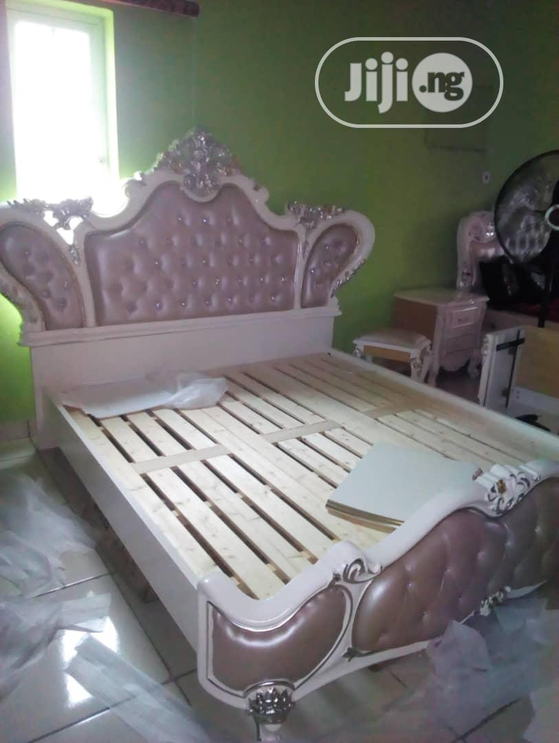 Royal Bed And Dressing Mirror