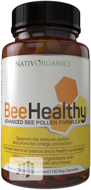 Beehealthy - Advanced Bee Pollen Formula With Royal Jelly Bee Pollen P   Vitamins & Supplements for sale in Lagos State, Ojo