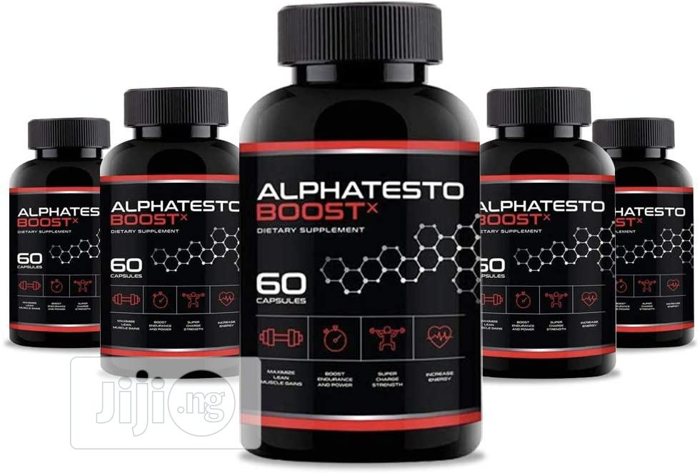 Archive: Alpha Testo Boost X Supplements For Men in Wuye - Sexual Wellness B-Kaz Globa Venture