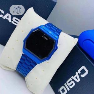 Casio Digital Blue Chain Watch | Watches for sale in Lagos State, Lagos Island (Eko)