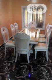 Marble Dining Table 8setters | Furniture for sale in Lagos State, Lekki Phase 1