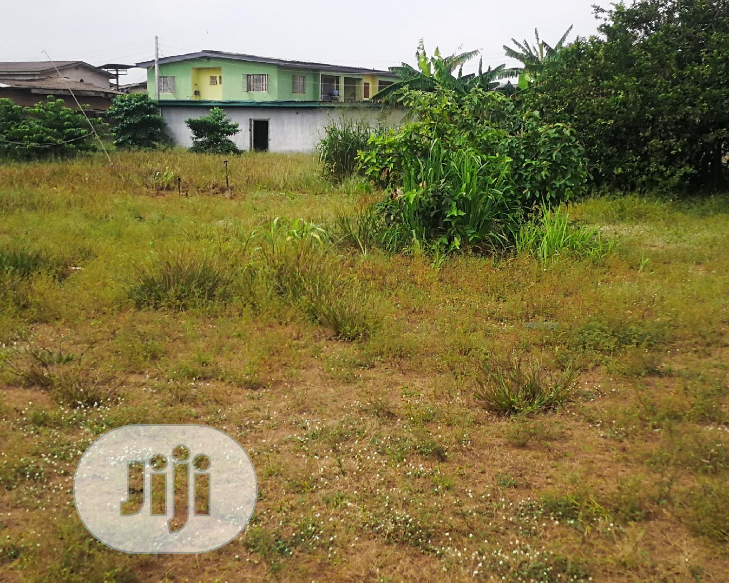 Half Plot Of Land In Fagba