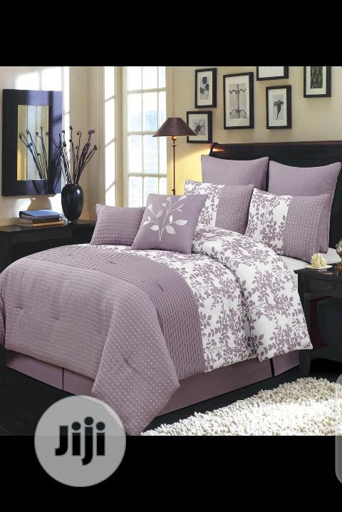 Nice Duvet, Bedsheet With 4 Pillow Cases-7*7
