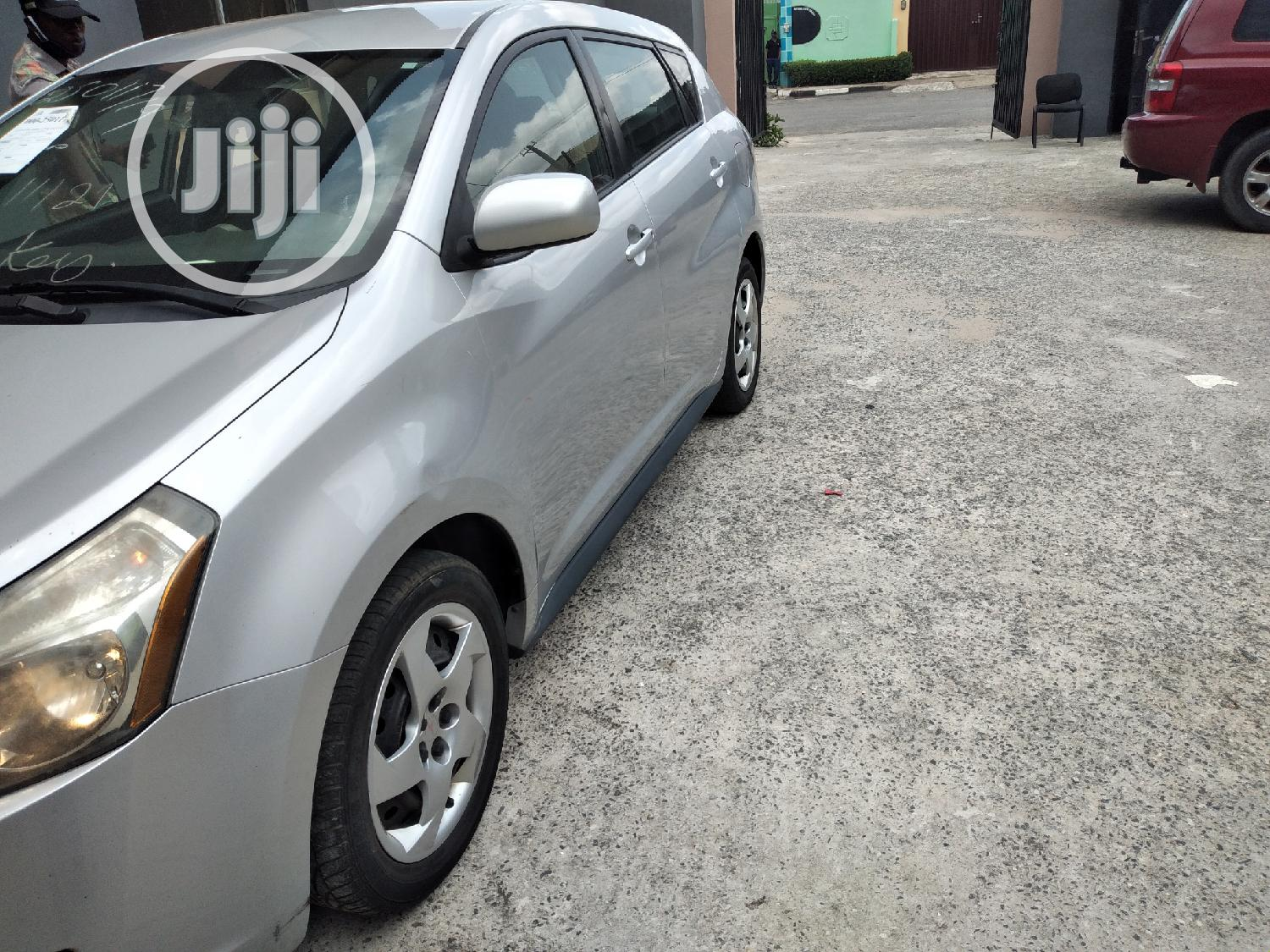 Pontiac Vibe 2010 2.4 4WD Silver | Cars for sale in Ikeja, Lagos State, Nigeria