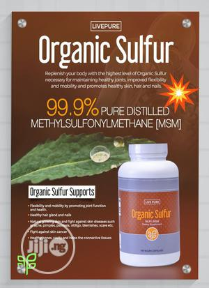 Organic Sulphur - For Healthy Joints, Skin, Hair and Nails   Vitamins & Supplements for sale in Lagos State, Ilupeju