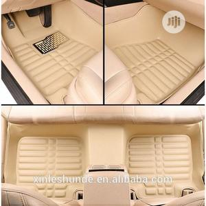 Car Foot Mat/Customize Leather Carpet/Car Floor Mat (Beige Colour)   Vehicle Parts & Accessories for sale in Lagos State, Ojo