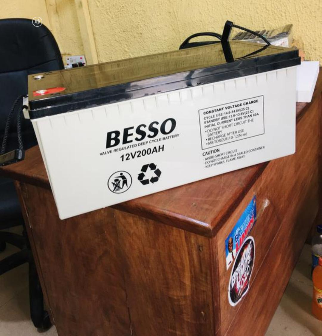 Besso 200ah 12v Battery